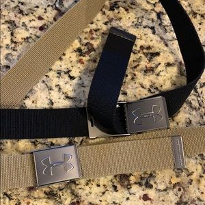 Under armor canvas, military style belts